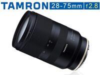 Tamron 28-75mm f2.8 Di RXD Lens for Sony FE Full Frame E-Mount