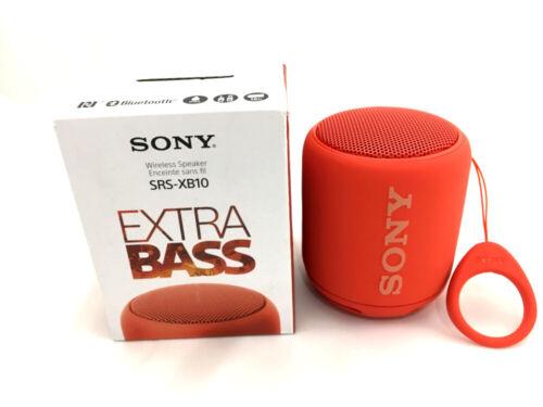 Sony XB10 Portable Bluetooth Speaker Red SRSXB10/RED
