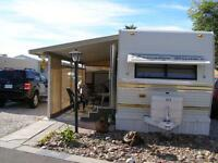 Wonderful 35 ft. trailer for rent in #1 Rated Resort in Yuma, AZ