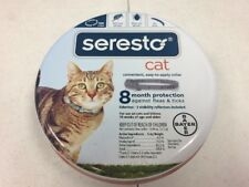 Bayer Seresto Flea and Tick Collar for cat 8 Month Protection odorless