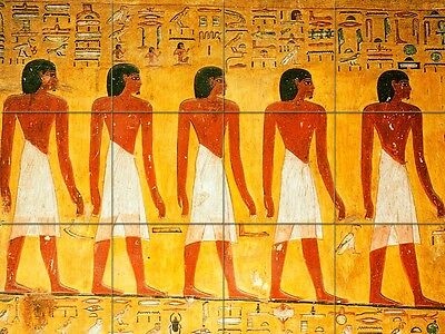 Art Colorful Fashion Men Ancient Egypt Ceramic Mural Backsplash Bath Tile #95