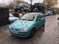 2003 Vauxhall Corsa Life 16V 5dr Hatchback 1.2L Petrol Blue BREAKING FOR SPARES