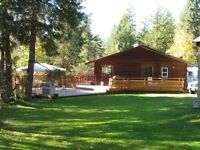 HOME FOR SALE IN CLEARWATER, BC ON 2+ ACRES