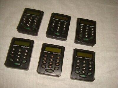 Lot Of 6 Supra Displaykey Real Estate Electronic Lockbox Key Display Keypad