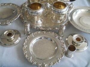 Antique Silver Plate Wm Rogers