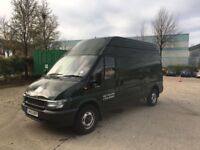 2006 FORD TRANSIT T350 LWB HIGH TOP + LOW MILES + MOT + 2 OWNERS + STARTS AND DRIVES EXCELLENT !!!!