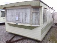 Static Caravan 26 x 10 ft 2 Bedrooms