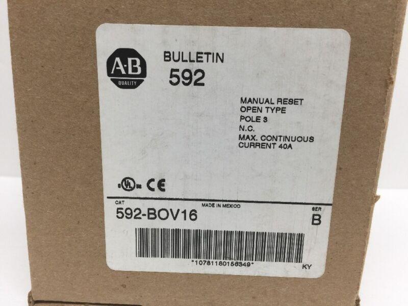 Allen Bradley 592-BOV16