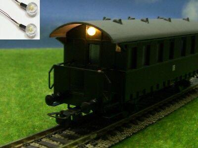 S418 - H0 LED Bühnenbeleuchtung für Waggons mit Bühne z.B. Donnerbüchsen