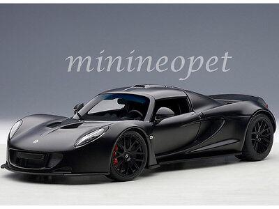 Autoart 75401 Hennessey Venom Gt Spyder 1 18 Diecast Model Car Black