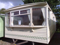 Static Caravan 25 x 12 ft 2 Bedrooms, pre-owned, VGC, Carnaby Belvedere
