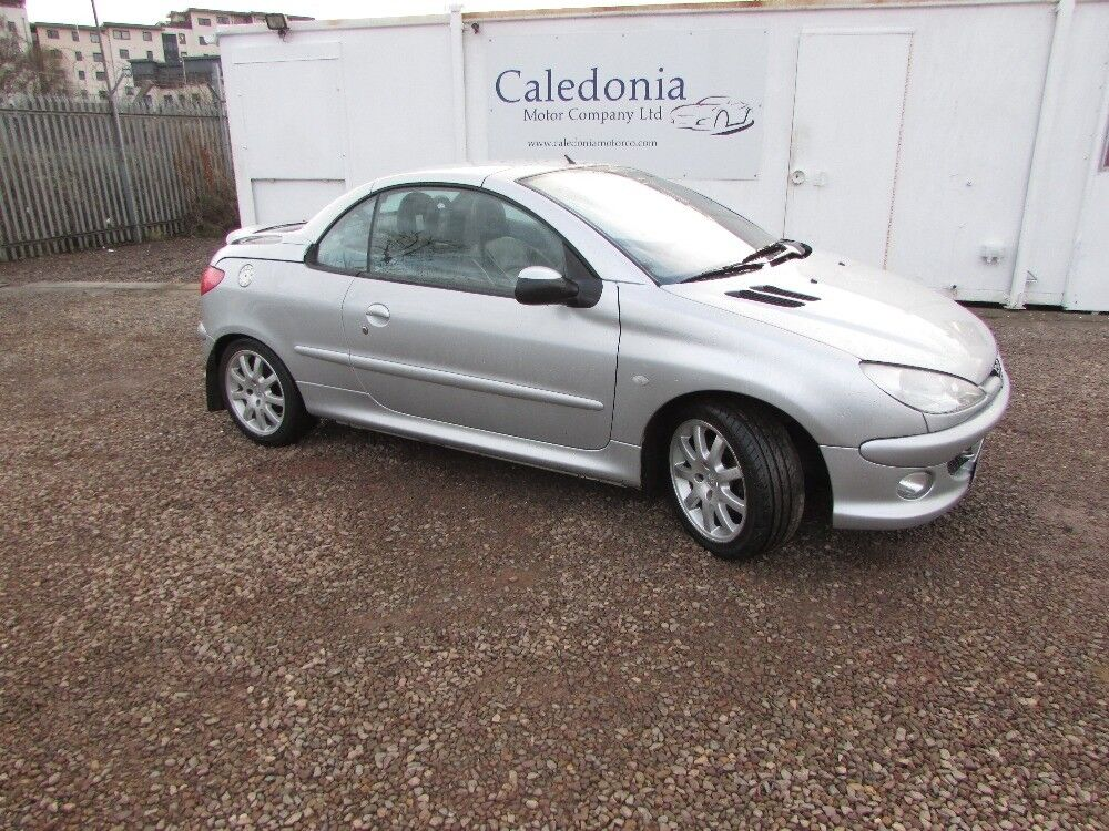PEUGEOT 206 COUPE CABRIOLET SE FULL LEATHER (silver) 2004