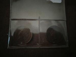 1895 and 1900 Canadian Large Cent Coins
