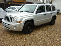 JEEP PATRIOT LIMITED CRD (silver) 2008