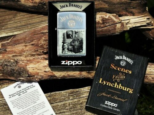 Zippo Lighter - Jack Daniels Scenes from Lynchburg - Limited Edition - Series 4