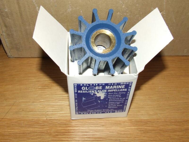 Globe run dry impellers (engine cooling)