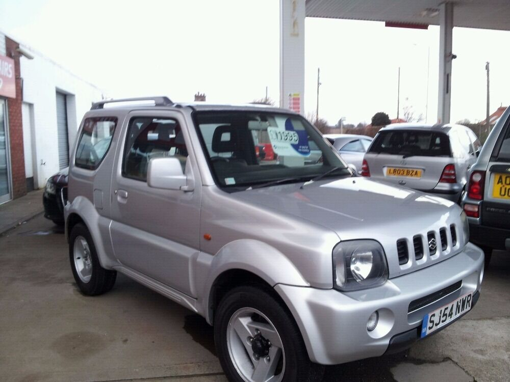 suzuki jimny jlx mode silver 2004 in bridge of earn perth and kinross gumtree. Black Bedroom Furniture Sets. Home Design Ideas