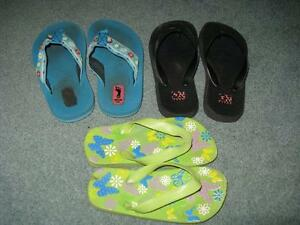 Little Girls Summer Shoes - Sizes 9-10 Sarnia Sarnia Area image 6