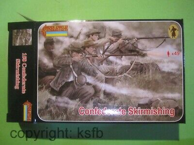 1:72 Strelets #158 US Bürgerkrieg Südstaaten Soldaten Abwehrkampf Confederate