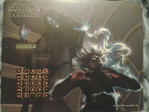 Star Wars mouse pad w/ built in solar calculator