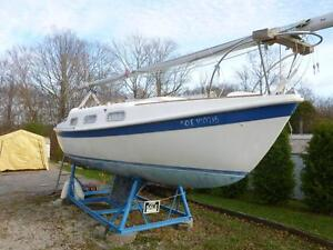 LAST CHANCE, BOAT WILL BE PARTED OUT ENDTanzer 22 fin keel. 1976