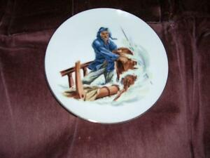 """""""Braving the Storm"""" Collectors Plate"""