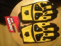 Icon Mesh Gloves Large New