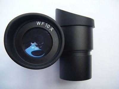 2pcs Stereo Microscope Wf 10x Eyepiece 30mm Mount Binocular Microscope Eyecup