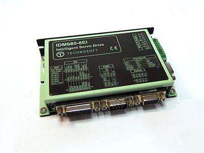 Technosoft Idm680-8ei Intelligent Servo Drive 640w Canopen Ac Dc Brushed Brushle