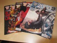 2000 AD Comics. Numbers 1795 - 1799 (4 Comics)