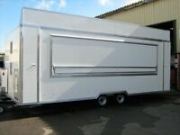 LARGE CATERING TRAILER AVAILABLE TO CATER EVENTS/FUNCTION