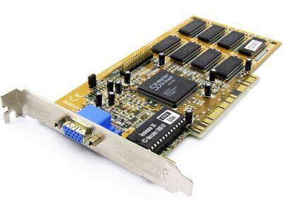 S3 VS04 Virge/DX On Board GPU 86C375 Chip 4MB VRAM Vintage PCI VGA Grafikkarte