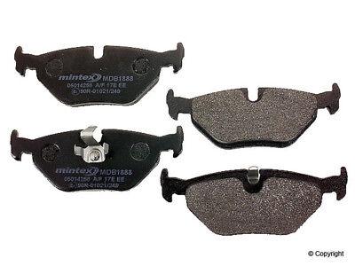 Disc Brake Pad Set-Mintex Rear WD EXPRESS 520 07630 - Mintex Rear Brake Pad