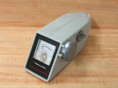 Realistic 0010339 Musicsound Level Meter