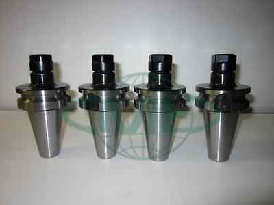 Bt40-er16 Collet Chuck W. 2.75 Gage Length---4 Chucks Tool Holder Set