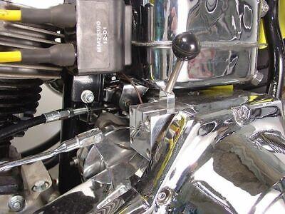 Big Twin Starter (Starter Solenoid Lever Start System Harley Panhead Shovelhead 4 Speed Big Twin )