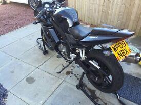Suzuki sv650s black