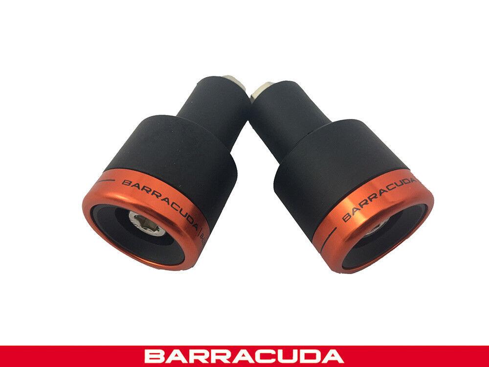 Bar Ends Barracuda Universal Fit Honda NC750X Black