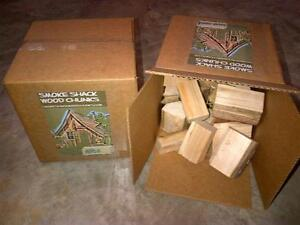 2 of the 10lb boxes of wood chunks for smoker bbq 7 varieties Kitchener / Waterloo Kitchener Area image 1