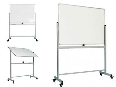 Officegenius Mobile Whiteboard On Wheels With Stand 48x36 White Board