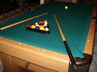 Table de billard.