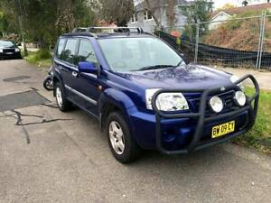 2002 Nissan X-Trail ST T30 Manual 4x4 Chatswood Willoughby Area Preview