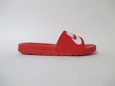 Nike SB Benassi SolarSoft Slide Sandal Red White Sz 10 840067 601