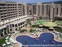 Bulgaria Sunny Beach apartment holiday home to rent on a 5-star complex with 3 swimming pools