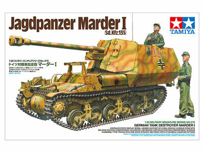 Tamiya 35370 - 1/35 WWII Dt. Sd.Kfz.135 Marder I Jagdpanzer - Neu
