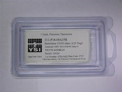 Ysi 311-p18-08a35r 10k 25degc Nasa Space Qualified Ntc Thermistors