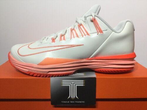 Ladies Nike Lunar Ballistec 1.5 Tennis Trainers ~ 705291 166 ~ Uk Size 7