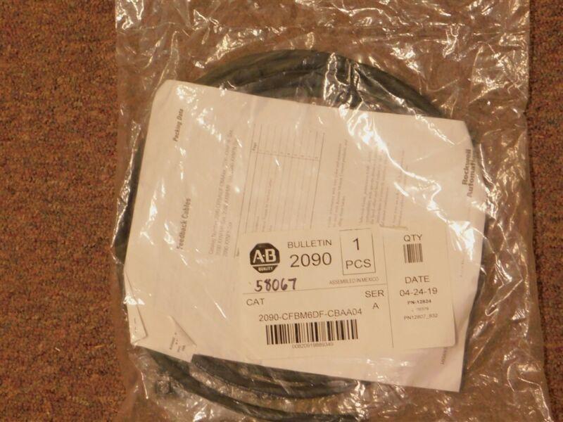 Allen Bradley 2090-CFBM6DF-CBAA04 TL-Series 4m Motor Feedback Cable