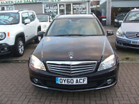 MERCEDES BENZ C CLASS C250 CDI BLUEEFFICIENCY ELEGANCE (black) 2010