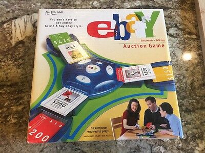 NEW Hasbro 2001 eBay AUCTION Board Game Electronic Talking MINT NEVER OPENED
